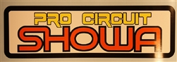 Pro Circuit Showa vintage decal sticker