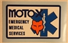 Moto-X Fox Medical Services decal sticker