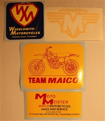 Team Maico sticker kit