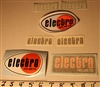 Electro Helmets decal sticker kit