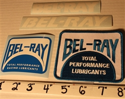 Bel-Ray decal sticker kit