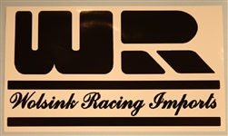 Wolsink Racing Imports- decal sticker