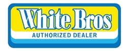 White Bros ( Brothers ) Authorized Dealer decal sticker