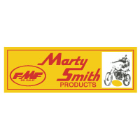FMF Marty Smith products decal sticker