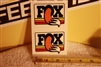 Fox Factory Shoxs and Fox TwinClicker reservoir decal sticker set