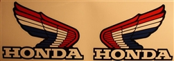 Honda RTL250S RTL 250S tank wing decal stickers