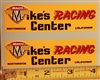 Maico Mike's Racing Center decal sticker set