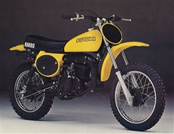 1977 Suzuki RM80 RM 80 background oval decal set