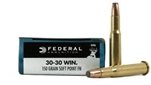 Federal Power-Shok 30-30WIN 150gr SPFN 20/box