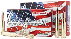 Hornady American Whitetail 30-06 150GR SP 20rd box