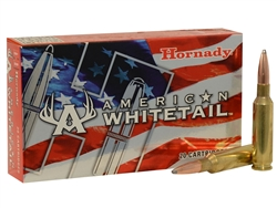 Hornady American Whitetail 6.5 Creedmoor 129 Grain Interlock - Per 20