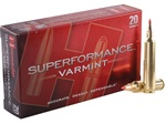 Hornady 204 RUGER Superformance Varmint V-MAX 40gr - 20rd box