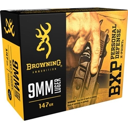 Browning 9MM BXP 147gr X-Point - 20rd Box