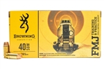 Browning .40 S&W 165gr FMJ - 50rd Box