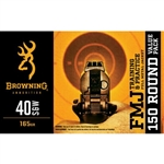 Browning .40 S&W 165gr FMJ - 150rd Value Pack