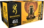 Browning .45 ACP 230gr FMJ - 100rd Value Pack