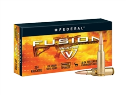 Federal Premium  224 Valkyrie Fusion Soft Point 90gr - 20 Rd box