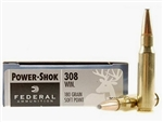 Federal Power-Shok 308WIN SP 180gr - 20rd box