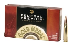 Federal 308 BTHP Gold Match 175gr - 20rd box