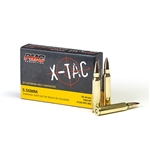 PMC Ammunition X-TAC 5.56mm NATO FMJ BT 55gr 20rd box