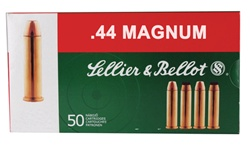 Sellier & Bellot 44MAG Soft Point 240gr - 50rd box