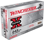 Winchester Super X 243 Win 80gr Soft Point - 20rd box
