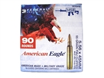 Federal American Eagle XM193 5.56 FMJ on 10rd Stripper Clips 90rd Box