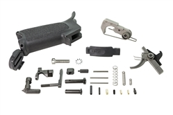 BCM AR-15 AR15 Enhanced Lower Parts Kit (semi) - BLACK
