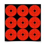"Birchwood Casey Self-Adhesive Target 2"" Spots 10 Pack"