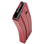 C-Products DuraMag Speed 223/5.56 AR-15 30rd Aluminum Magazine - RED