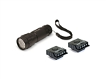 Cyclops 14 LED Flashlight and Ultimate Mini LED Hat Clip Light Kit
