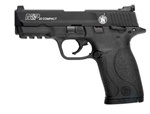 "Smith and Wesson M&P22 Compact 22LR Pistol 10rd 3.56"" Barrel Black Melonite Finish"