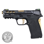 "Smith and Wesson M&P Performance Center 380 Gold Shield EZ 380 ACP 3.6"" 8+1 (Manual Safety)"