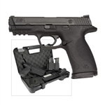 "Smith and Wesson M&P9 Carry & Range Kit 9mm 10+1 4.25"" - MA Compliant"