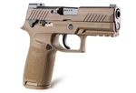 "Sig Sauer P320-M18 9MM 3.9"" 17+1- Coyote PVD-ONLY 1 MAGAZINE INCLUDED"