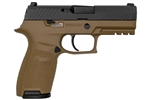 Sig Sauer P320 Carry Copperhead 9mm 17+1 Exclusive FDE Frame