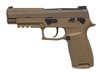 "Sig Sauer P320-M17  9MM 4.7"" 17+1 - Coyote-ONLY 1 MAGAZINE INCLUDED"
