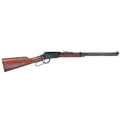 "Henry Repeating Arms  17HMR  Lever Action Blue Finish Walnut Stock 20"" Octagon Barrel"