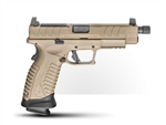 "Springfield XDM Elite 9MM 4.5"" - Deseert FDE Threaded OSP"