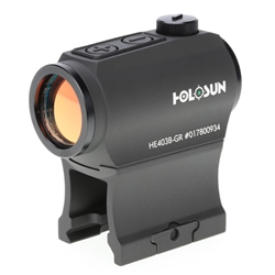 Holosun Paralow HE403B-GR Elite - Green Dot Sight - 50K Battery Life - Blemished