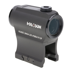 Holosun Paralow HS403C Solar Power Red Dot Sight - 50K Battery Life