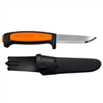 Morakniv Basic 546 Fixed Blade - Black / Orange