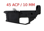 Spartan-45ACP Glock Magazine Compatible Billet Lower Receiver