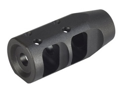 "JP Large-Profile Compensator for Bull Barrel, 1.2"" Outside Diameter, Tapered to .925 Barrel with 1/2 x 28 Thread .270 Exit"