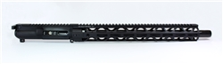 "Kaw Valley Precision AR-15 16"" 9MM Complete Upper - M-Lok"