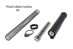 Kaw Valley Precision Pistol Caliber Carbine 6pos Mil-Spec Stock Hardware Kit w/ KVP 7.5oz Blowback Buffer