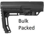 Mission First Tactical AR-15 Battlelink Minimalist Stock - Mil Spec - Black-BULK PACKED