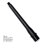 "New Frontier Armory AR-15 8"" Match Grade .45ACP 4150 Black Nitride Barrel"