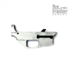 New Frontier Armory 80% - 9mm Glock Magazine Compatible Billet Lower Receiver