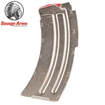 SAVAGE 90008 MAGAZINE FOR MODEL MK-II RIMFIRE 22 LR, 10 ROUND, STAINLESS